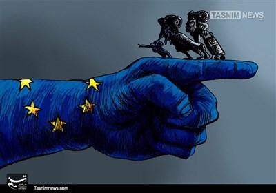 کاریکاتور/ اخراج مهاجران از اروپا !