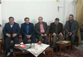حضور مسئولان فدراسیون فوتبال در منزل شهید رضایی مجد
