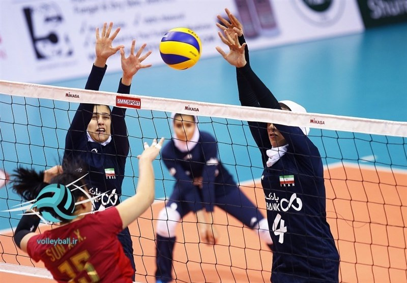 Iran Drawn with Thailand in Asian Women's Volleyball Championship