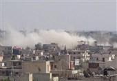 حملات موشکی تکفیریها به شهر«دمشق» / کشف تونل 300 متری بمبگذاری شده در «حرستا»