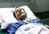 برگزاری مراسم تشییع و تدفین پیکر احمد عزیزی در کرمانشاه