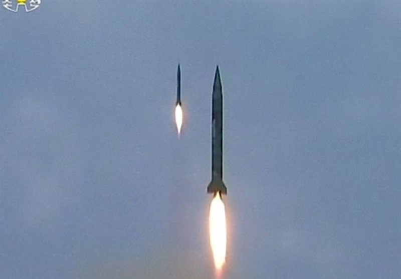اولین فیلم از پرتاب موشکهای بالستیک کره شمالی