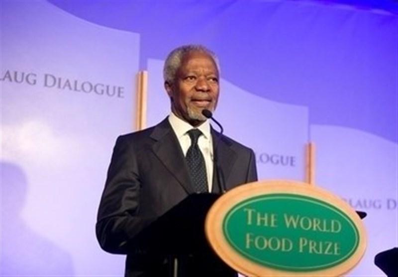 کوفی عنان بنیاد جایزه جهانی غذا