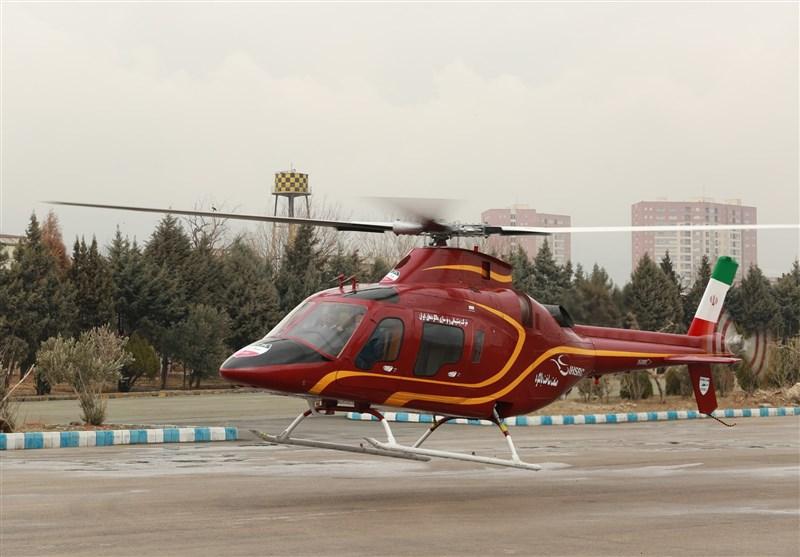 İran'ın En Son Ürettiği Seba-248 İsimli Helikopterin Tanıtımı Yapıldı+Foto
