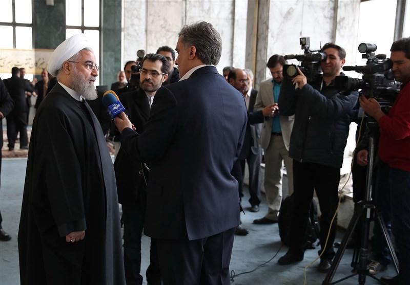 Ruhani'nin Amerika Başkanı'nın İran'daki Seçimler Hakkındaki Açıklamalarına Tepkisi