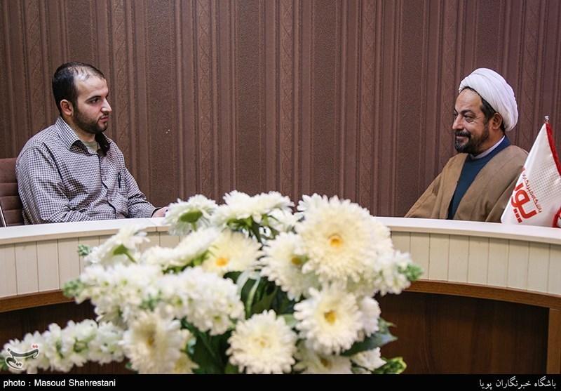 حجت الاسلام رضازاده کارشناس مذهبی