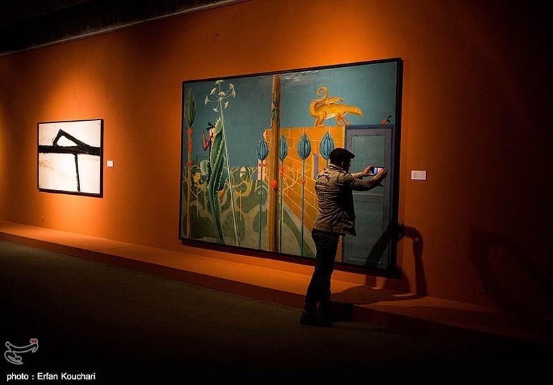 افتتاح نمایشگاه آثار گنجینه موزه هنرهای معاصر
