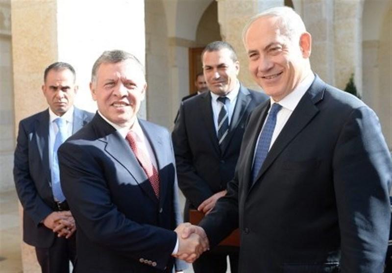 نتانیاهو ملک عبدالله