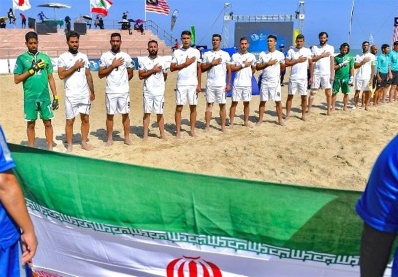 إیران بطلة منافسات آسیا لکرة القدم الشاطئیة بفوزها على الإمارات