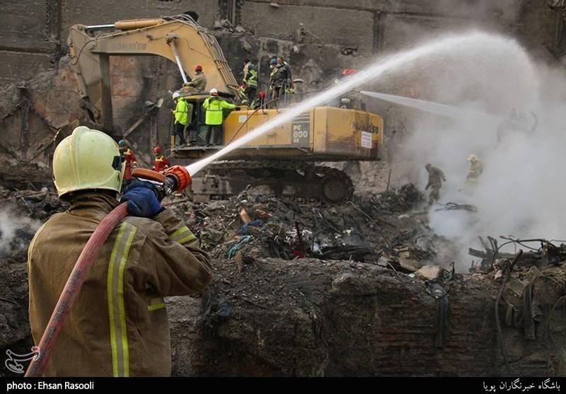 علت اصلی وقوع حادثه پلاسکو اعلام شد/ علت: استفاده از ادوات گرمایشی در طبقه دهم