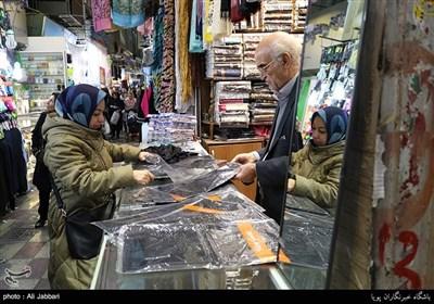سوق طهران على اعتاب عید النوروز