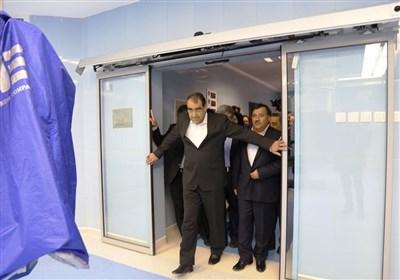 افتتاح بیمارستان رضوانشهر که در سال 90 ساخت آن آغاز شده بود