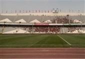 تجمع اعتراضی کارگران مجموعه ورزشی آزادی مقابل وزارت ورزش