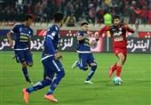 برتری پرسپولیس مقابل استقلال خوزستان در نیمه نخست
