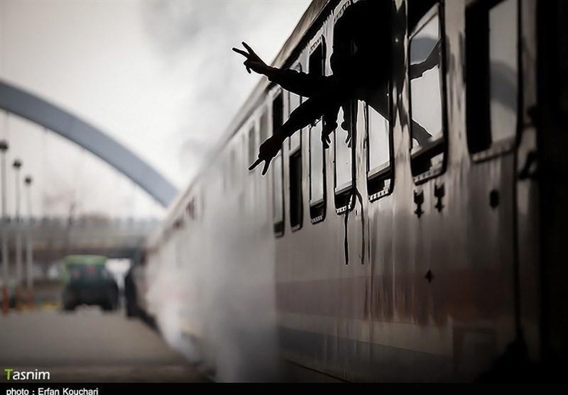 خبر آتشسوزی قطار تهران ـ مشهد صحت ندارد/نشت روغن روی اگزوز قطار سبب برخاستن دود شد