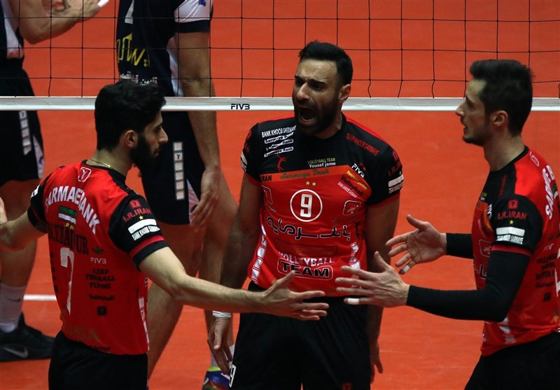 Iran's Sarmayeh Bank Beats Beijing BAIC Motor at Asian Club Volleyball C'ship