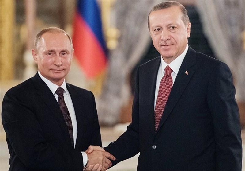 مذاکرات تلفنی پوتین و اردوغان درباره اوضاع ادلب