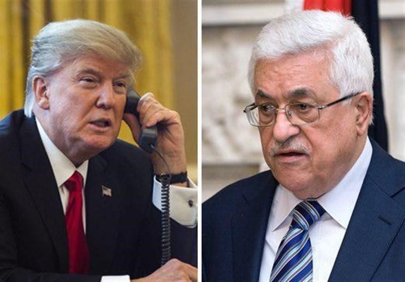 ترامپ عباس
