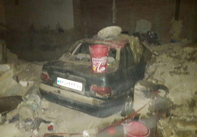انفجار مواد محترقه در اردبیل