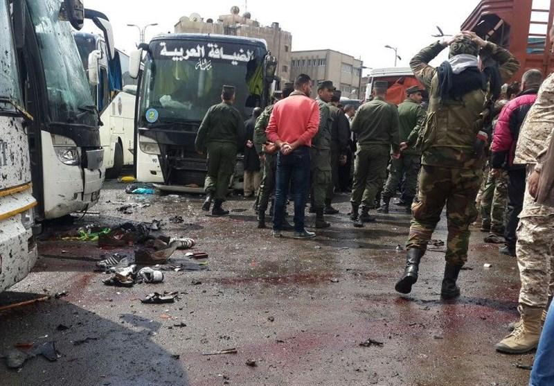 40 شهیدا و120 جریحا جراء هجوم استهدف زوار المقامات الدینیة فی دمشق+فیدیو وصور