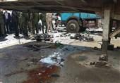 بالصور..شهداء و جرحى جراء هجوم ارهابی فی دمشق