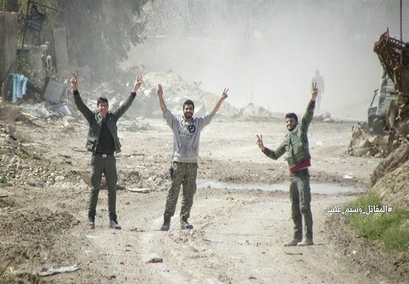 """الجیش السوری یسیطر على طریق """"الدرب الطویلة"""" فی محیط القابون"""