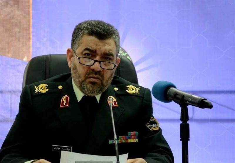 محمود میرفیضی فرمانده انتظامی مازندران