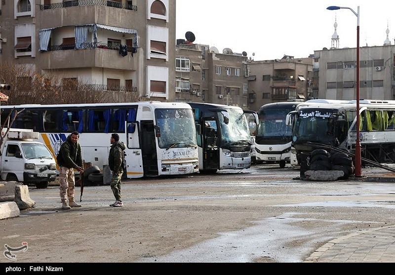 انفجار تروریستی در دمشق