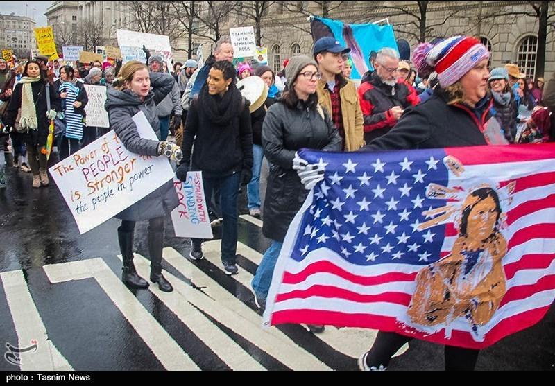 تظاهرات بومیان آمریکا