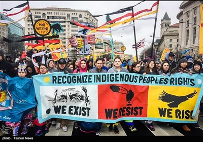 Native Americans Rally in Washington against Dakota Pipeline