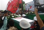 Bodies of Iranian Martyrs Repatriated from Iraq (+Photos)