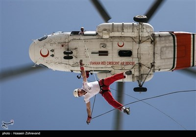 Rescue Drill Held in Iran in Preparation of Nowruz