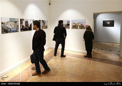 افتتاح معرض صور (العشق والنار)