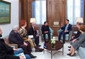 دیدار هیئتی از پارلمان اروپا با بشار اسد