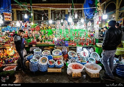 التسوق لایام العید فی سوق تجریش