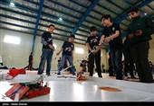 تمرینات تیم رباتیک استان البرز برای شرکت در مسابقات کشوری