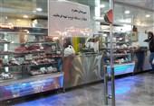 فروش گوشت بز و میش به قیمت بره در بازار شب عید