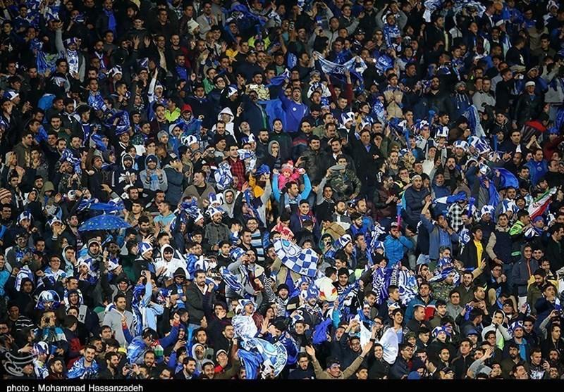 تشویق شدید استقلالیهای صبا/ حضور 3 هزار هوادار