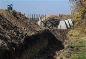 اوکراین در حال تقویت موانع امنیتی در مرز خود با روسیه است