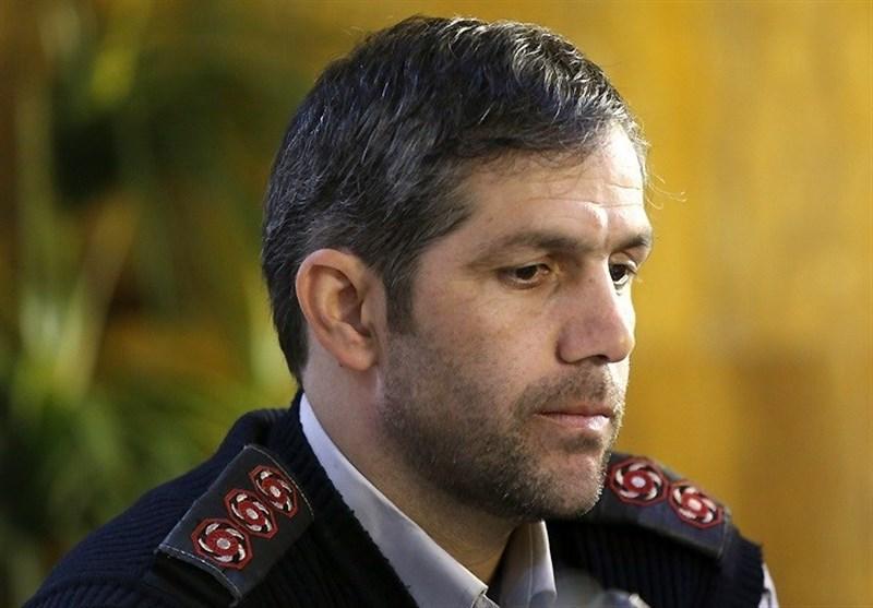 سید جلال ملکی سخنگوی آتش نشانی