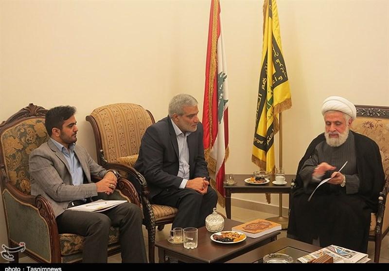 الرئیس التنفیذی لوکالة تسنیم یلتقی عدداً من قیادات حزب الله اللبنانی