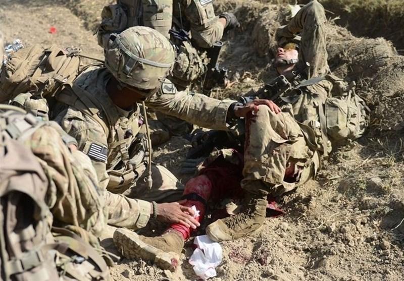 امریکی فوجی زخمی