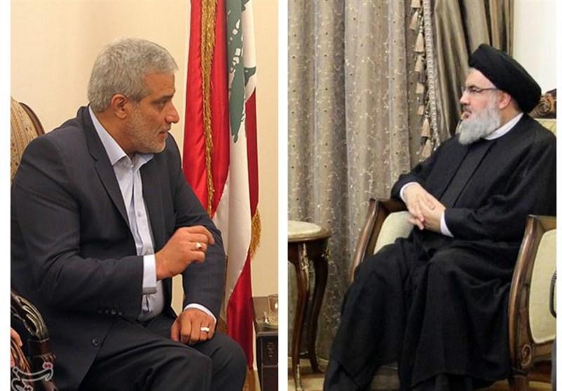 دیدار مدیرعامل خبرگزاری تسنیم با سیدحسن نصرالله