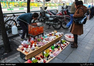 A Day before New Year in Iran