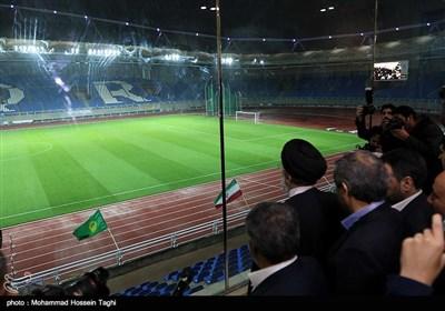 افتتاح ورزشگاه امام رضا(ع) - مشهد