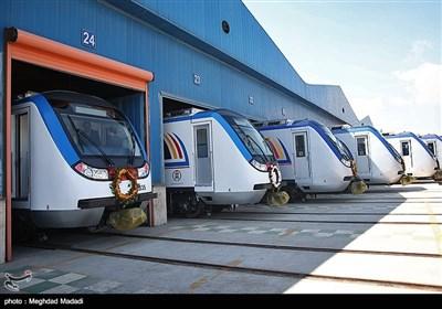 بهرهبرداری از 59 واگن و لکوموتیو مترو