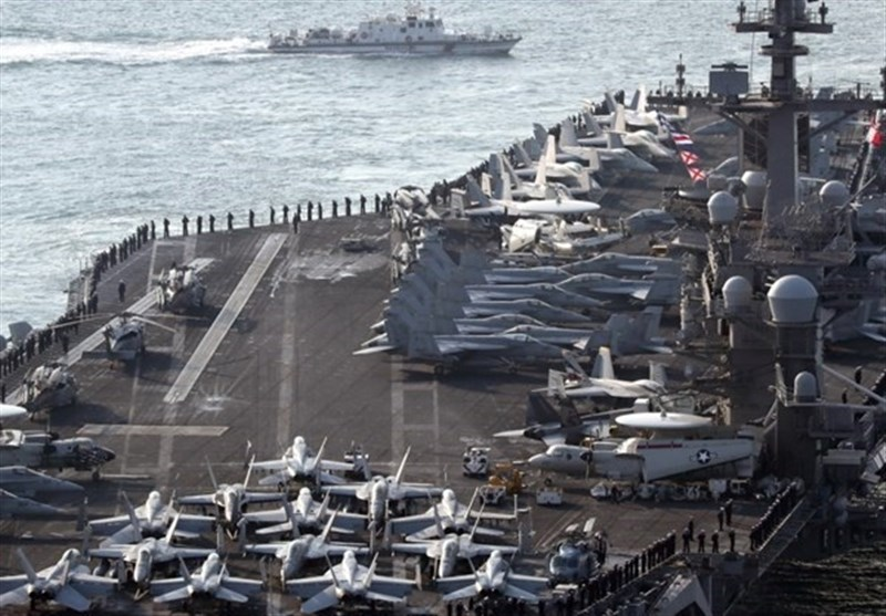 US Carrier in South Korea for Show of Force to North