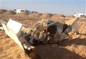 سقوط یک فروند پهپاد اسرائیلی در غزه