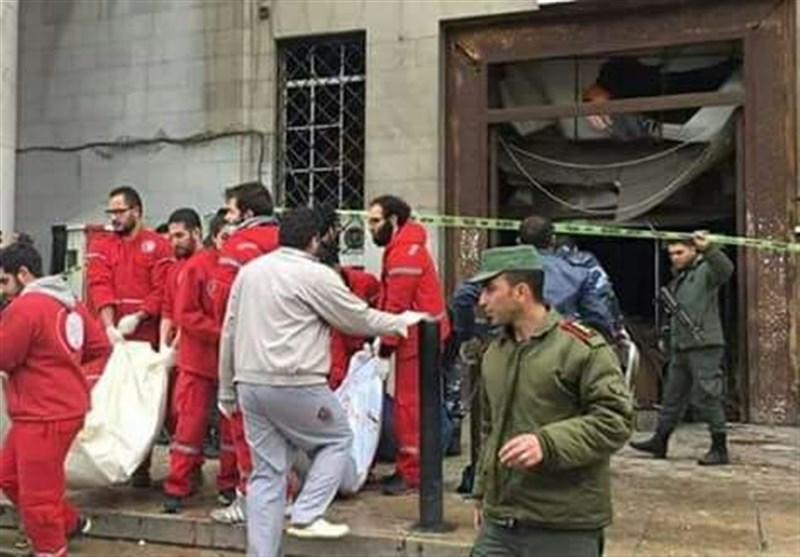 تصویر انفجار کاخ دادگستری