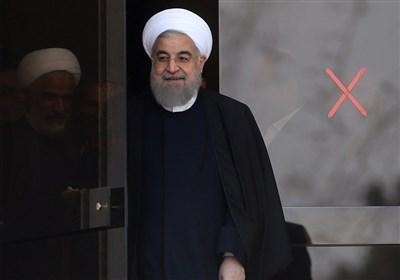 بازدید سرزده روحانی از ایستگاه سلامت اورژانس در بزرگراه تهران - کرج